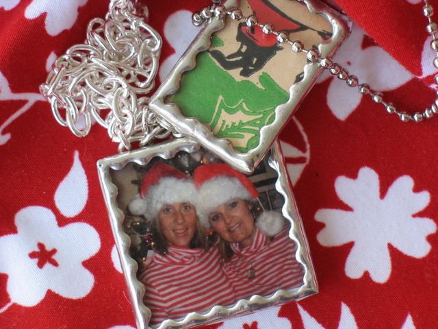 a couple of my favorite soldered charms for Christmas