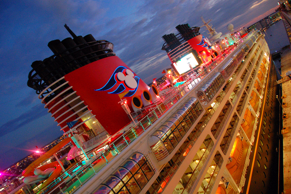 Disney Dream cruise ship in Spring of 2012.